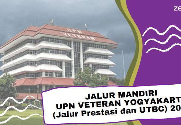Informasi jalur mandiri UPN Jogja 2021