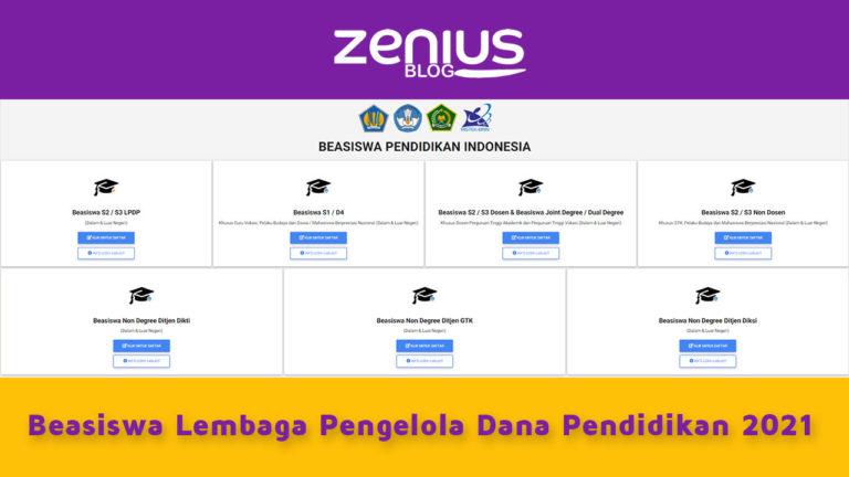 Jadwal, Skema, Biaya, Syarat Beasiswa LPDP 2021