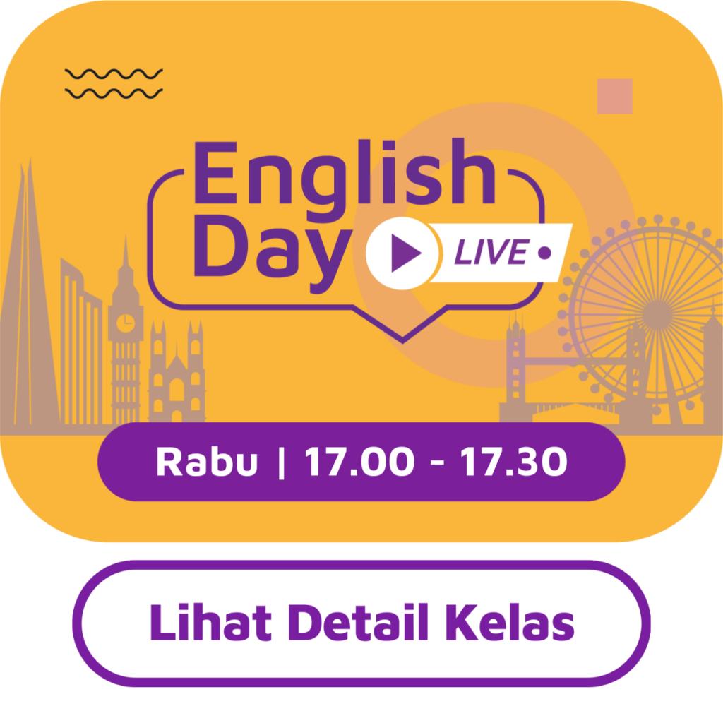 English Day: Written in The Stars: Idiom dalam Bahasa Inggris 44
