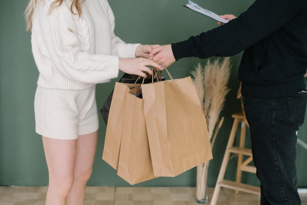 salah satu bahan tas belanja selain tas plastik