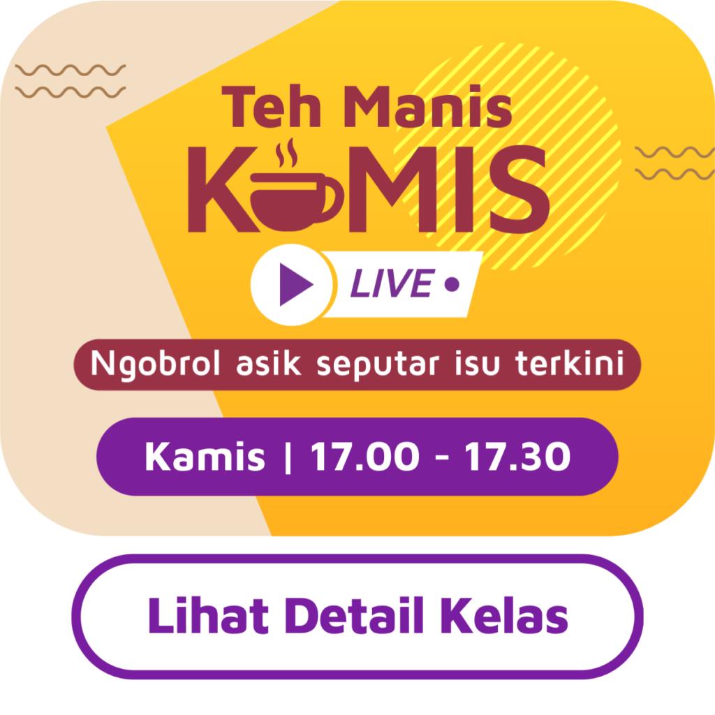 Teh Manis Kamis: Cintailah Produk Indonesia,Yakin? 35