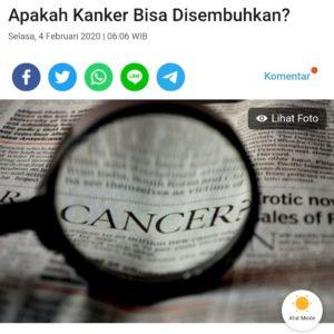 Sel Kanker, si Penipu Ulung yang Mengecoh Sistem Imun 25