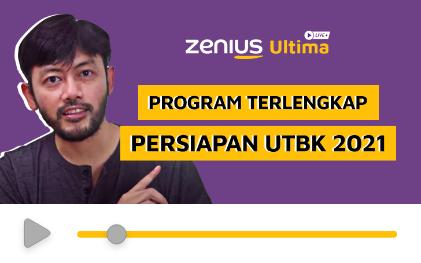 Persiapan Utbk 2021 Bareng Tutor Berpengalaman Zenius Ultima